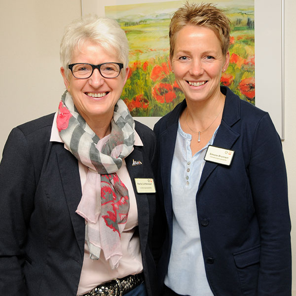 Maria Lichtenauer & Simone Brunnert
